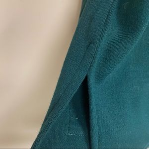 KL Collection Sweaters - Vintage Green Semi TurtleNeck Sweater
